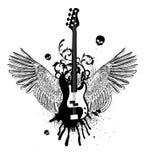 Alas de la guitarra Fotos de archivo
