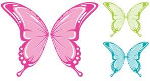 Alas de la mariposa Fotografía de archivo