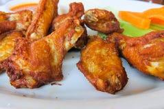 Alas de pollo Foto de archivo