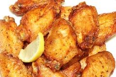 Alas de pollo barbequed Fotografía de archivo