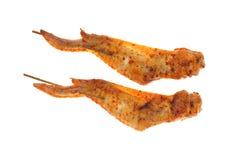 Alas de pollo de la barbacoa Fotografía de archivo libre de regalías