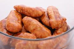 Alas de pollo en adobo Foto de archivo libre de regalías
