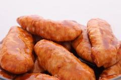 Alas de pollo en adobo Foto de archivo
