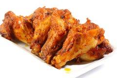 Alas de pollo picantes Fotografía de archivo libre de regalías