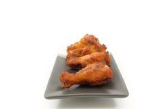 Alas de pollo picantes Imagen de archivo