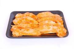 Alas de pollo sin procesar Fotografía de archivo