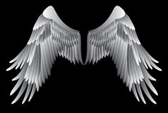 Alas del ángel stock de ilustración