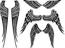 Alas del ángel Imágenes de archivo libres de regalías