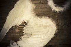 Alas del ángel Fotografía de archivo