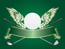 Alas del golf Foto de archivo libre de regalías