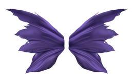 Alas púrpuras de Fae Fotos de archivo