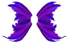 Alas púrpuras de la hada de la primavera libre illustration