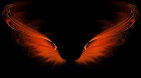 Alas rojas de la llama libre illustration