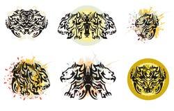 Alas tribales tremendas del Grunge libre illustration