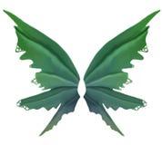 Alas verdes de la hada de la primavera libre illustration