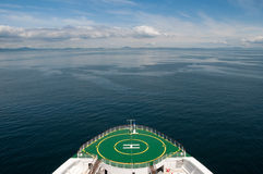 alaska łęku rejsu żeglowania statek obraz royalty free