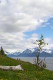 Alaska. Scenic view of Alaska along the Turnagain Arm Stock Images