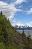 Alaska. Scenic view along Alaska's Turnagain Arm Royalty Free Stock Image