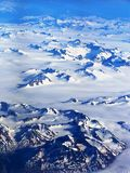 Alaska aerial view Stock Images