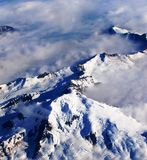 Alaska from the air Stock Images