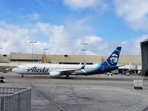 Alaska Airlines Photographie stock