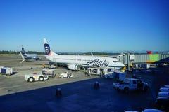 Alaska Airlines Photos libres de droits