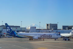 Alaska Airlines Photo libre de droits