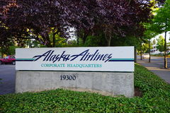 Alaska Airlines Photo stock