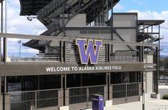 Alaska Airlines Field at Husky Stadium Stock Photos
