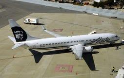 Alaska Airlines passenger jet Stock Image