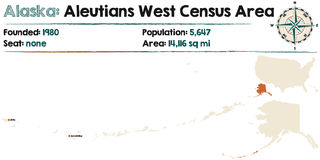 Alaska: Aleutians spisu ludności Zachodni teren Fotografia Stock