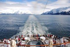 Alaska-Ansicht vom Schiff Stockbilder