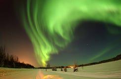 Alaska, Atmosphere, Aurora royalty free stock photos