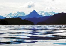 Alaska beauty. Taken in the summer of 2005 from my uncles boat.  Alaska is unbelievably beautiful Stock Photo