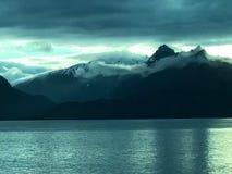 Alaska berg arkivfoto