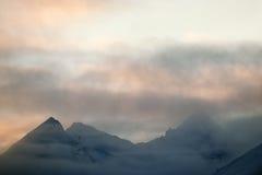 Alaska-Berge Lizenzfreies Stockfoto