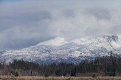 Alaska-Berge auf dem Kenai Pennsula Stockfotos