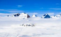 alaska bergsnow Royaltyfri Bild