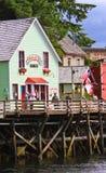 Alaska - a casa 2 da zorra famosa da rua da angra Fotografia de Stock