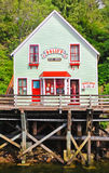 Alaska - a casa da zorra famosa da rua da angra Imagens de Stock Royalty Free