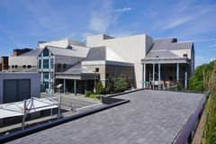 The Alaska Center for the Performing Arts in Anchorage Stock Image