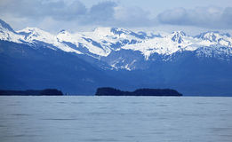 Alaska coastline at Juneau Stock Photography