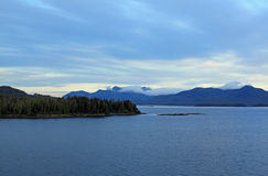 Alaska coastline at Ketchikan Royalty Free Stock Photography