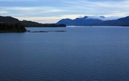 Alaska coastline at Ketchikan Stock Photography
