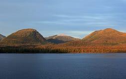 Alaska coastline at Ketchikan Royalty Free Stock Images