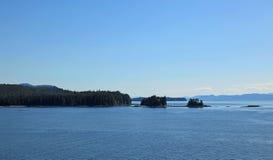 Alaska coastline at Ketchikan Stock Images