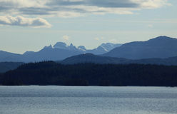 Alaska coastline at Ketchikan Royalty Free Stock Photo