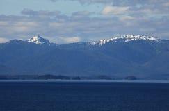 Alaska coastline at Ketchikan Royalty Free Stock Image