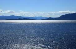Alaska coastline at Ketchikan Stock Images