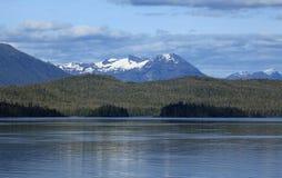 Alaska coastline at Ketchikan Stock Image